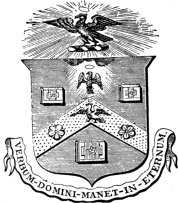 The Arms of the Worshipful Company of Stationers